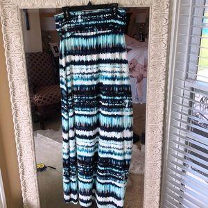 Beautiful Multi Color Maxi Skirt.  NWT